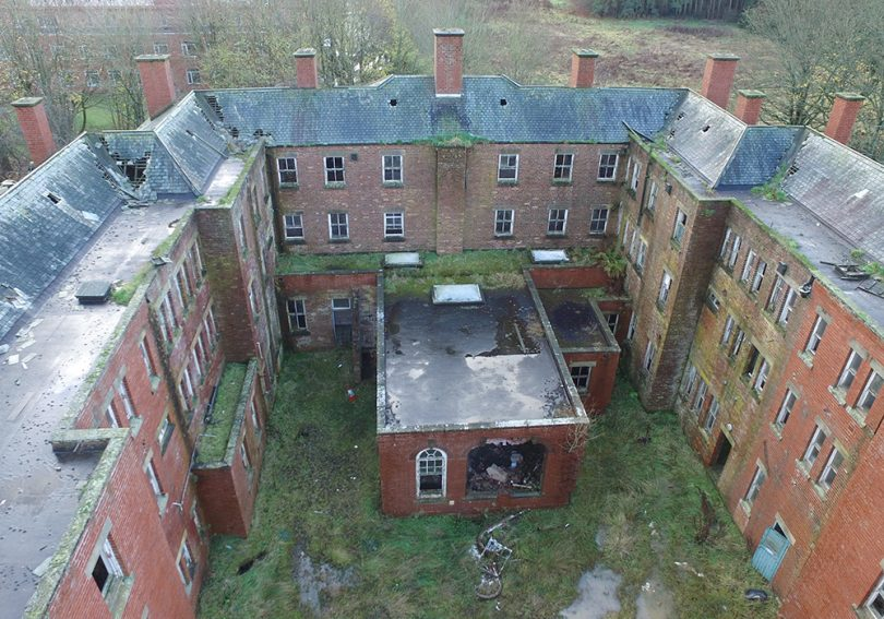 St Marys Hospital Drone Image