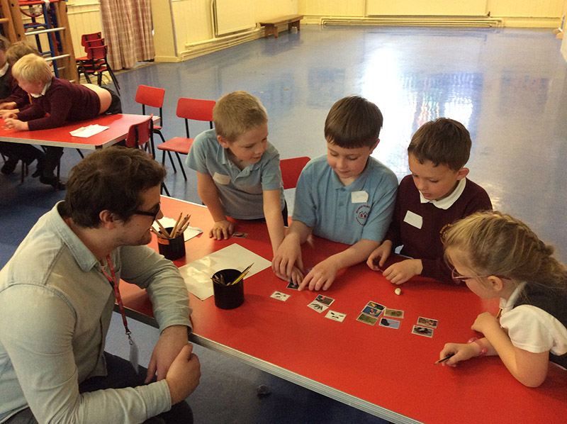 Bovis school ecology workshop