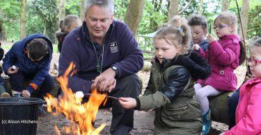 cheshire wildlife trust forest school